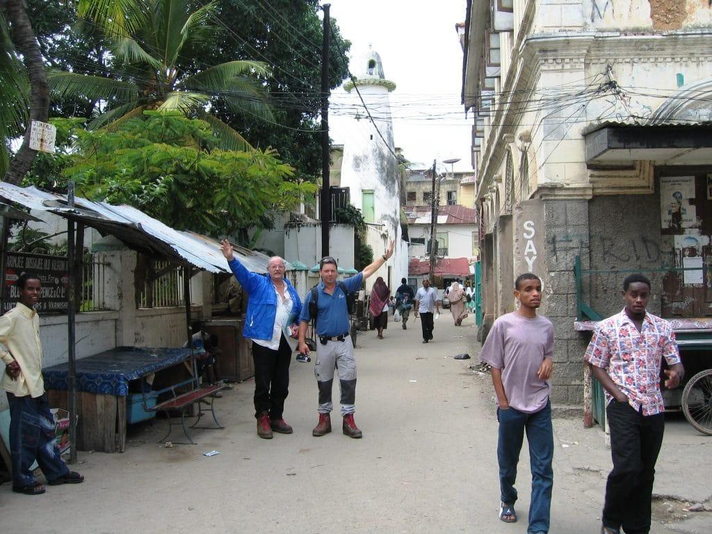 Altstadt Mombasa Hans-Dieter Schwing