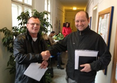 Fahrlehrer Jan bei Magistrat