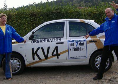 """Unsere """"praktischen"""" Fahrlehrer/innen Dana und Hans"""