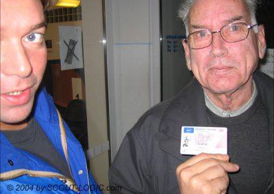 So sehen die ersten Kunden und Führerscheine aus
