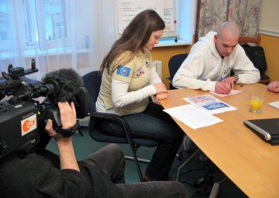 SCOUT Fahrschule Tschechien TV Team Unterricht