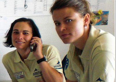 SCOUT Mitarbeiterinnen Sabine und Nikola