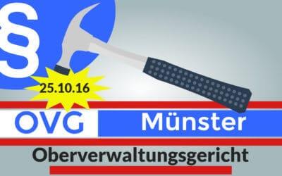 OVG Münster bestätigt – wie EUGH-Europäischer Gerichtshof – gültig!