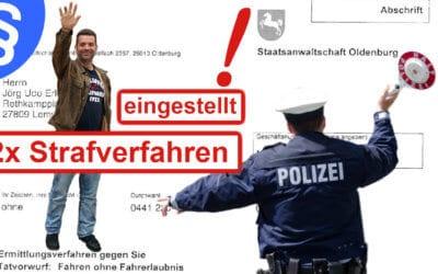 EU Führerschein gültig – Staatsanwalt gibt auf!