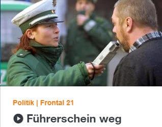 Willkür der MPU – ZDF Frontal21