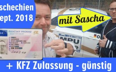 EU Führerschein aus Tschechien für Sascha aus Nürnberg