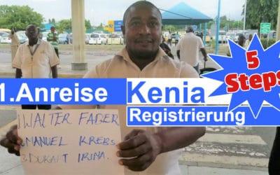 Kenia Führerschein erste Anreise – 5 Schritte