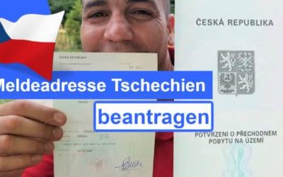 Meldeadresse Tschechien beantragen – so geht´s!