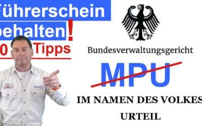 MPU Gutachten angeordnet und trotzdem Führerschein behalten
