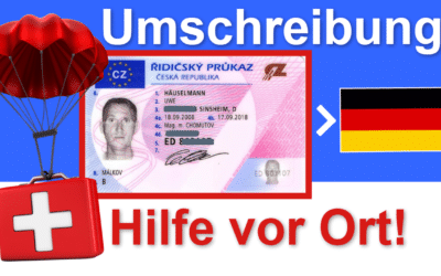 Tchechischer Führerschein umschreiben bei Deinem Strassenverkehrsamt