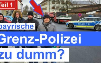 EU Führerschein Tschechien 2020 und Grenzpolizei zu dumm? Teil 1